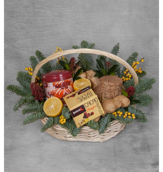 Фото - Подарочная корзина Зимние радости подарочная корзина осеннее танго