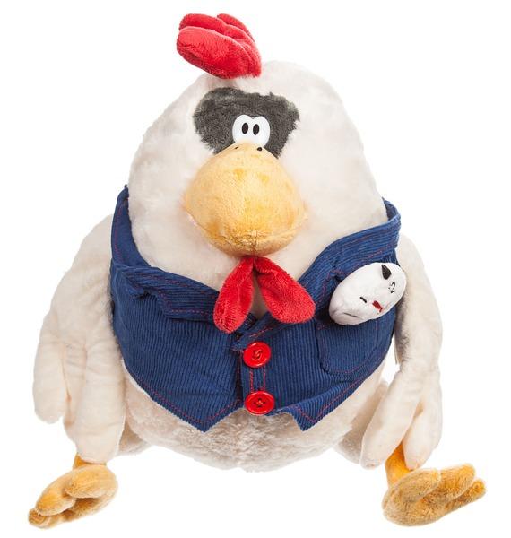 Мягкая игрушка Петух Купец мягкая игрушка snowmen петух с носком белый