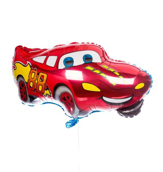 Воздушный шар Гоночная машина (81 см) пенал косметичка herlitz круглый гоночная машина
