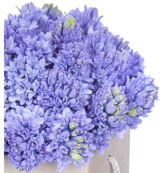 Композиция в вазе Голубое небо – фото № 3