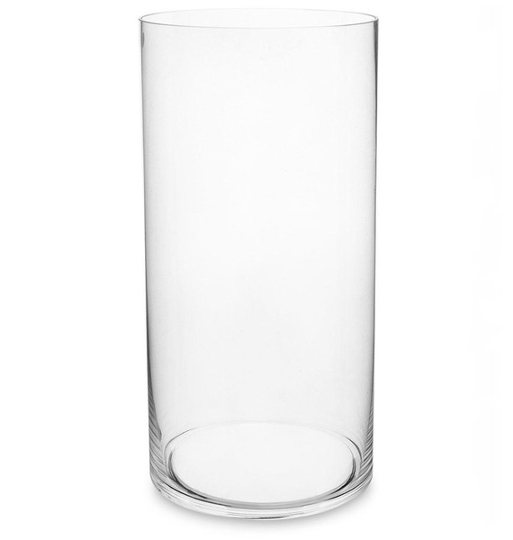 Ваза-цилиндр стеклянная (40 см)