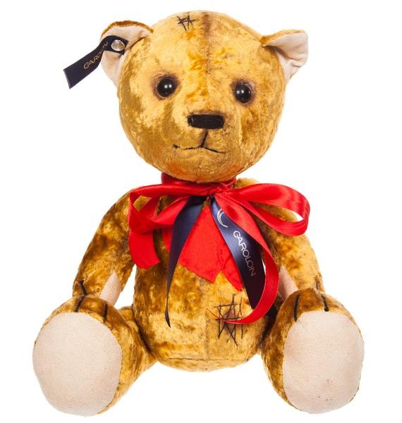 авторская игрушка ручной работы мишка тедди с любовью Игрушка ручной работы Мишка с сердцем