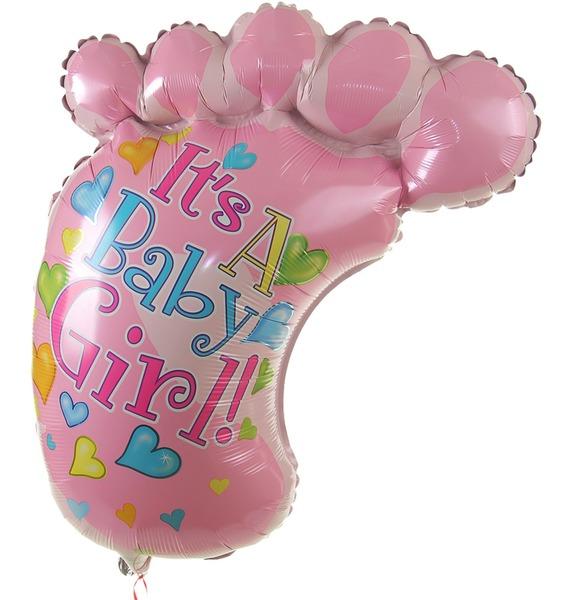 Воздушный шар Это девочка! (97см) воздушный шар qp 2 0431