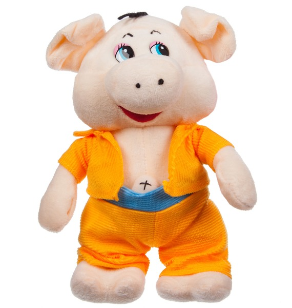 Мягкая игрушка Поросёнок Элвис (23 см) игрушка