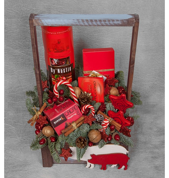 Фото - Подарочное кашпо Конфетти подарочное оружие