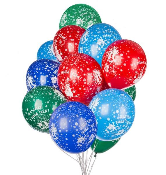 Букет шаров Пожелания (15 или 31 шар) букет из гортензии 31 или 61