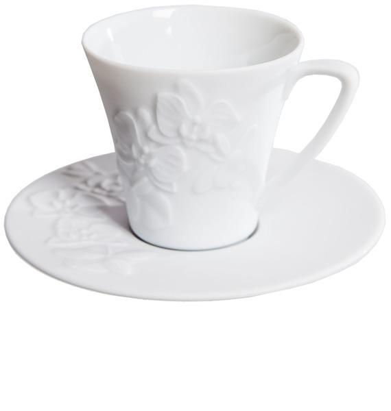 Подарочный набор для кофе Орхидеи Haviland – фото № 2