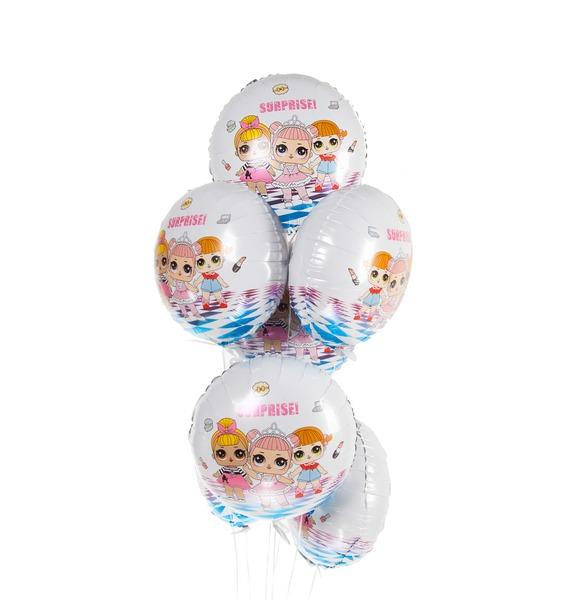 """Букет шаров """"Модные куклы"""" (7 или 15 шаров)"""