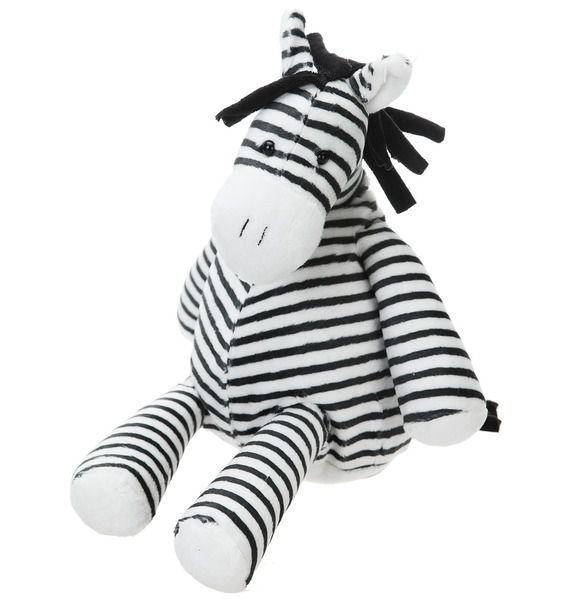 Мягкая игрушка Зебра Солли мягкие игрушки абвгдейка мягкая игрушка рыба крылатка зебра 35 см