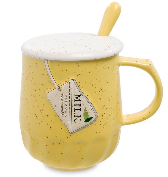 "Кружка ""Чаепитие"" (жёлтая)"