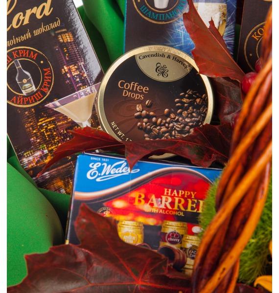Подарочная корзина Осенний вечер (Бренди в подарок) – фото № 3