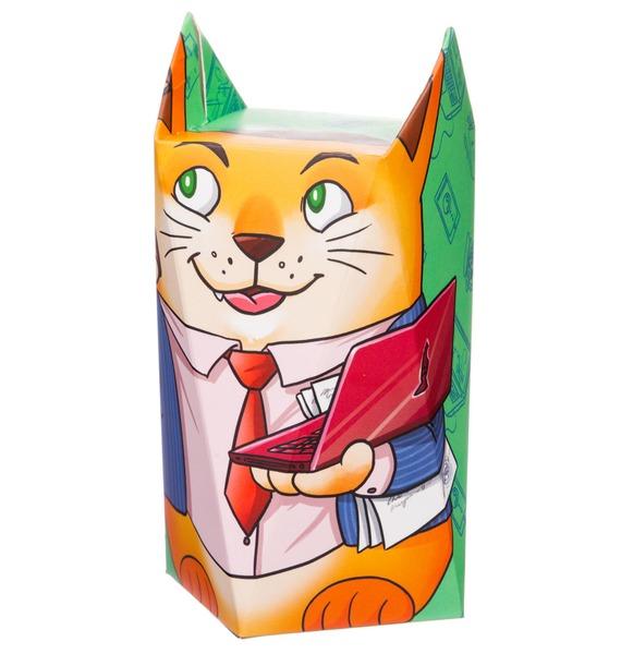 Молочный шоколад Кот-менеджер сhokocat кот менеджер молочный шоколад 50 г