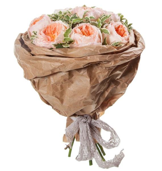 Букет из пионовидных роз Мгновение – фото № 3