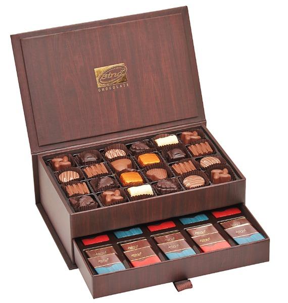 Набор шоколадных конфет Шкатулка, 450 гр