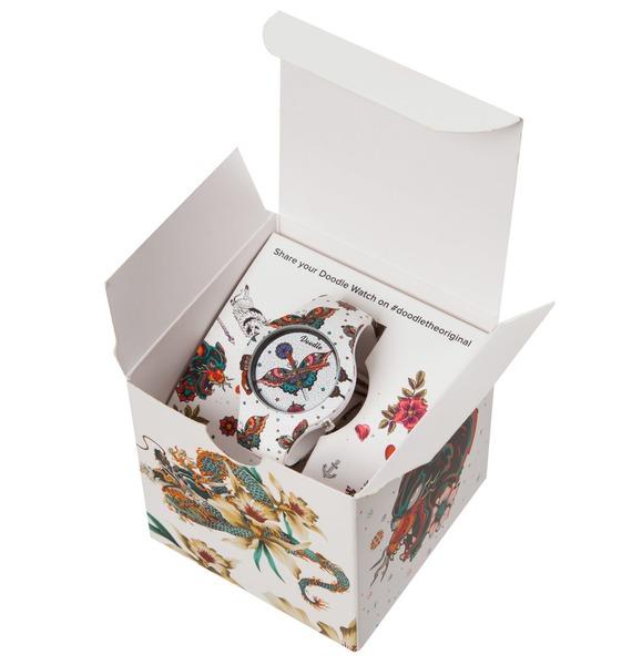 Часы Doodle Бабочка – фото № 5