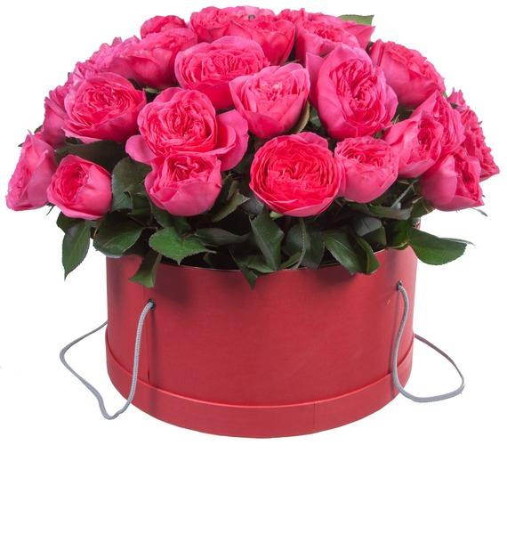 Композиция из 51 розы Baronessa – фото № 4
