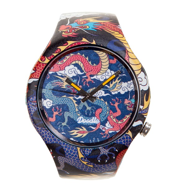 Часы Doodle Рыцарь драконов