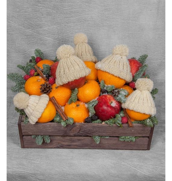 Подарочное кашпо Зимние друзья коврик для мышки printio no man's sky