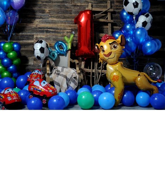 Оформление шарами Для принца! – фото № 3