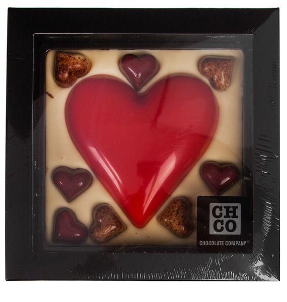 "Шоколад CHOCBAR XL LUXE ""Сердце с конфетами"" 380г"