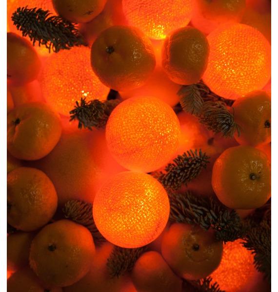 Подарочная корзина Цитрусовый рай – фото № 2