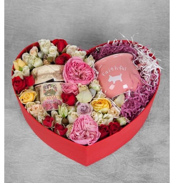 Композиция Любящее сердце – фото № 1