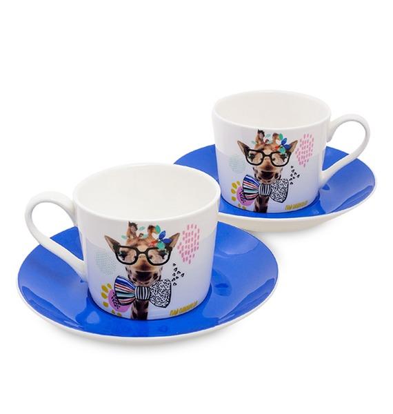 Чайный набор на 2 персоны Фанни (Stechcol) набор чайный 12 пр синий павлин 250 мл под уп 968992 page 2