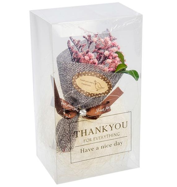 Букет из сухоцветов в подарочной коробке Спасибо тебе! иван колодиев судьба моя тебе спасибо стихи