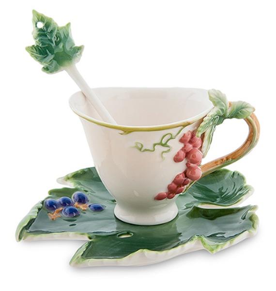 Чайная пара Гроздь винограда (Pavone)