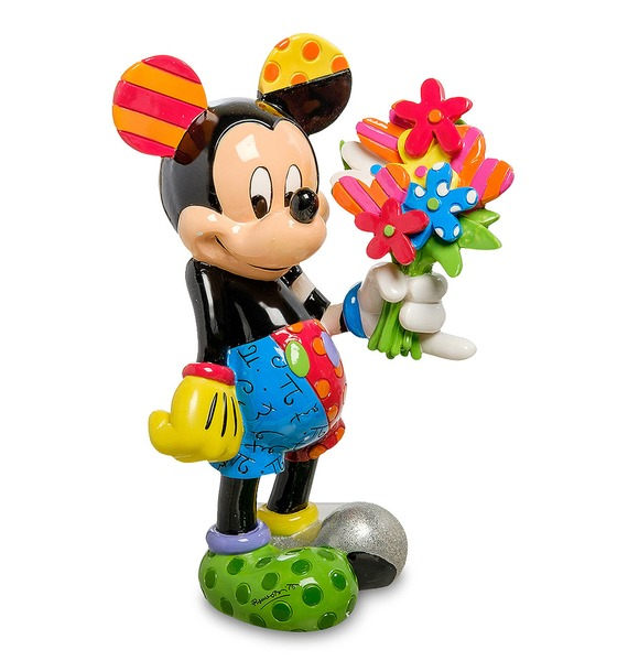 Фигурка Микки Маус с цветами (Disney) – фото № 1