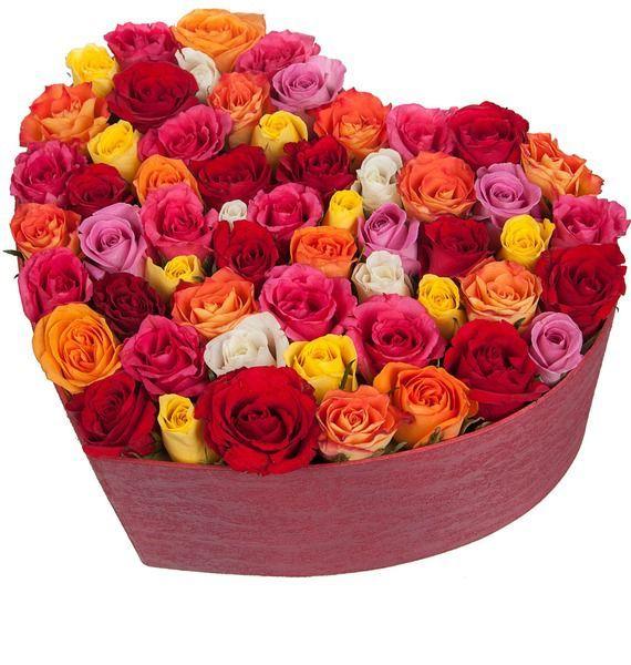 Композиция Люблю тебя (101, 201 или 301 роза) 101 роза