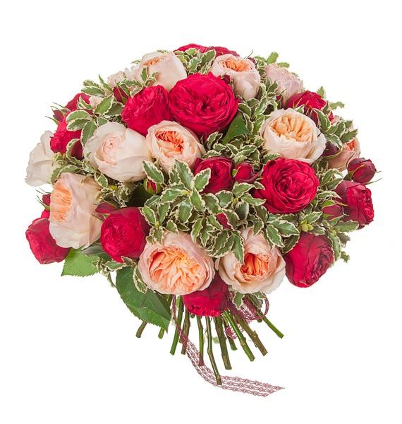 Букет из пионовидных роз Единственная (15, 25 или 51) – фото № 5