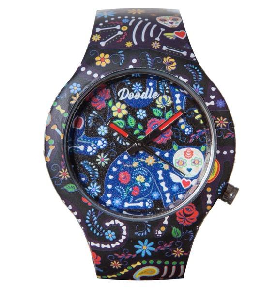 """Часы Doodle """"Santa Muerte"""""""