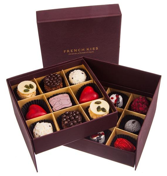 Конфеты ручной работы из бельгийского шоколада Рубин 18 – фото № 1