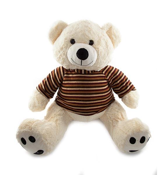"""купить Мягкая игрушка """"Мишка в свитере"""" (60 см) по цене 3650 рублей"""