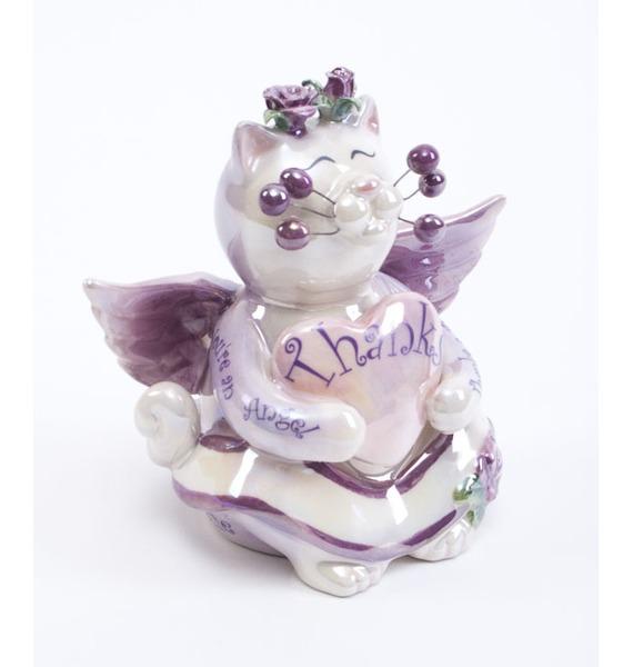 Фигурка Кот Анджело с сердцем Pavone, Италия cms 31 9 фигурка кот давид pavone