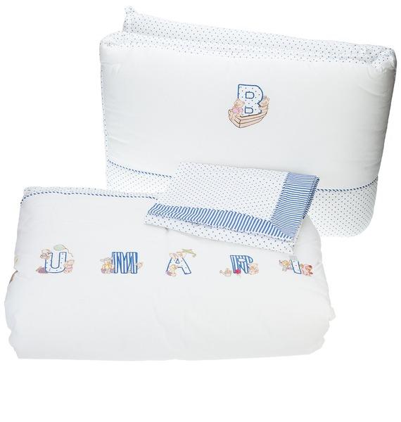 Детский комплект для кроватки Blumarine скатерть quelle эго 1024295 120х150