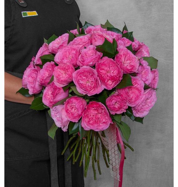 Букет пионовидных роз Maria Theresia (15, 25 или 51)