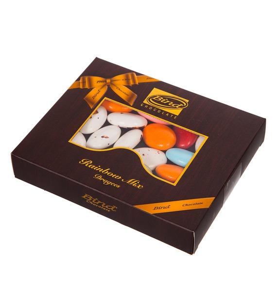 Шоколадное драже Радуга микс, 100гр цена