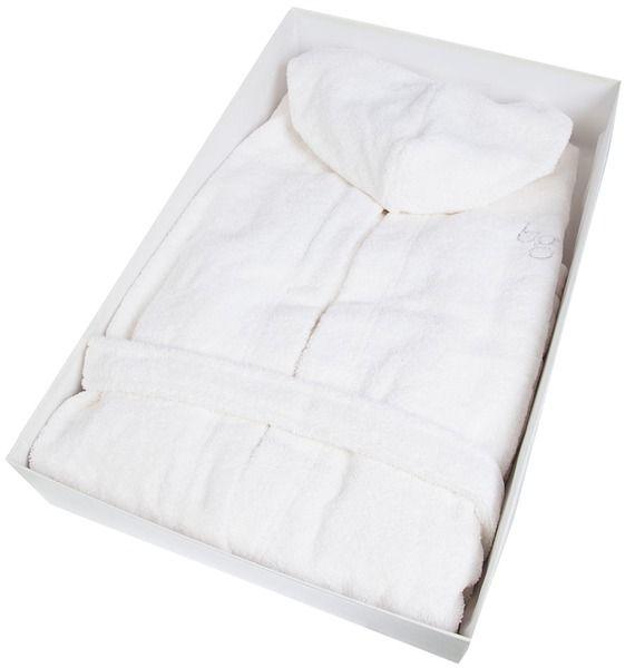 Халат с воланами и капюшоном Blumarine халаты банные lelio халат