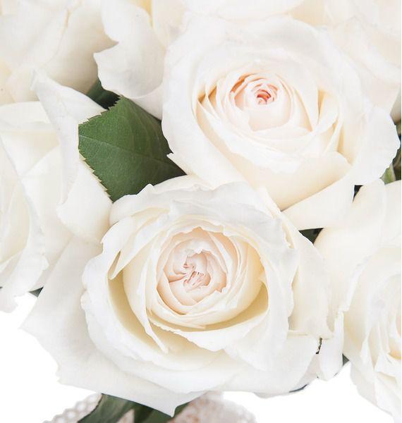 Букет ароматных пионовидных роз Princess Miyuki – фото № 3