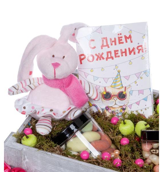 Подарочное кашпо С Днем Рождения – фото № 5