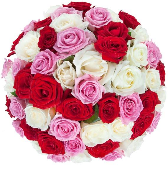 Букет роз Ягодное лето (35, 51 или 101) – фото № 5