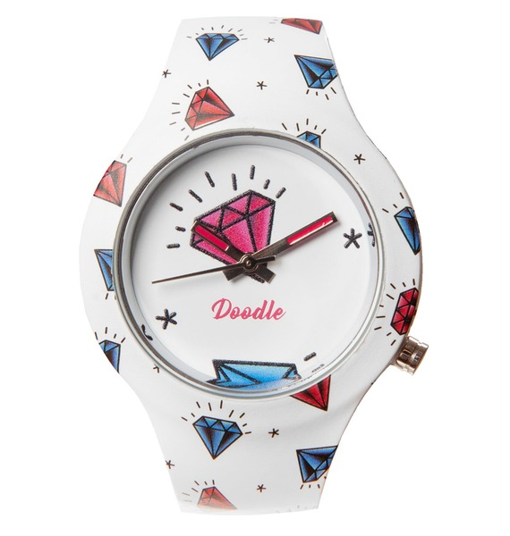 Часы Doodle Бриллианты