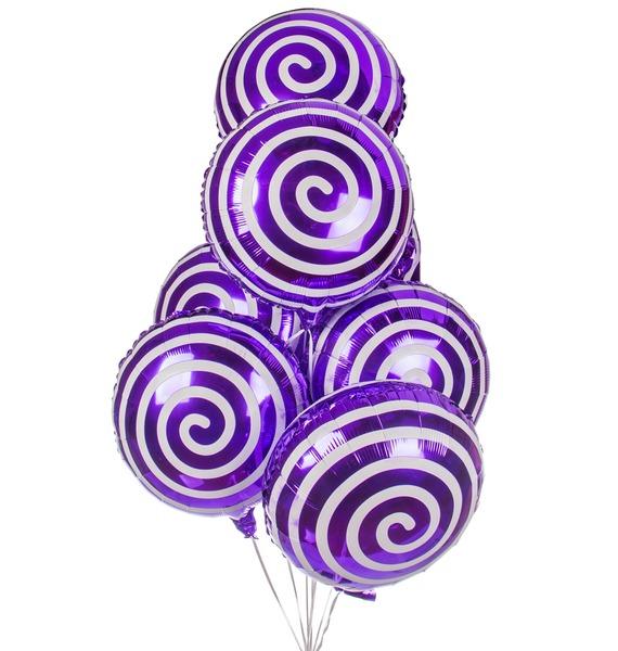 Букет шаров Леденцы (7 или 15 шаров) baskin robbins мороженое волшебные леденцы 1 л