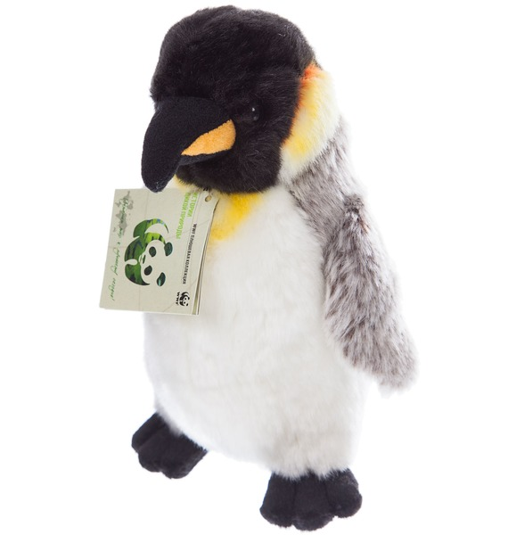 Фото - Мягкая игрушка Пингвин WWF (20 см) мягкая игрушка мамонт 20 см