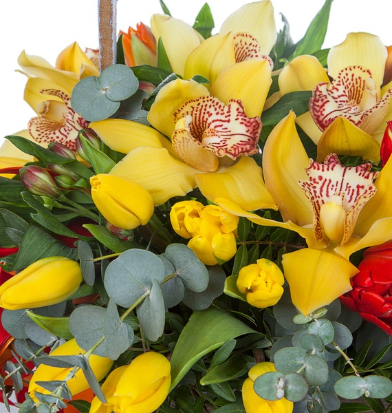 Композиция Бал орхидей – фото № 3