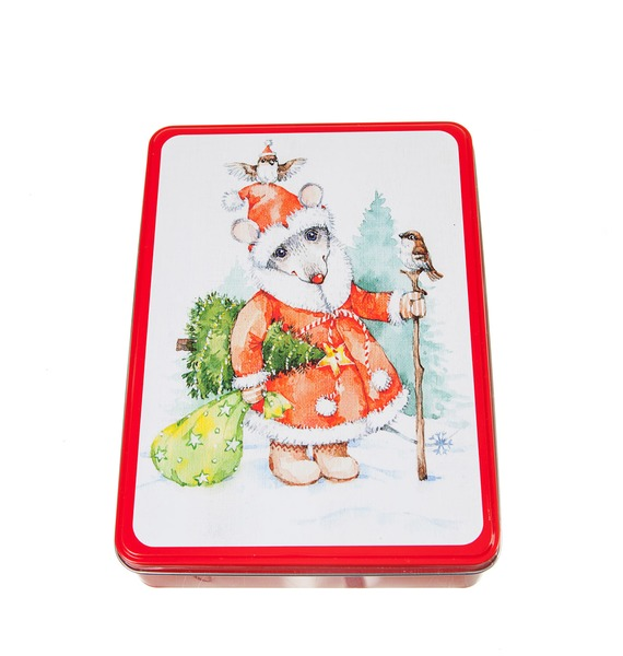 Новогоднее ассорти итальянских конфет Мышка с Ёлкой merci набор конфет ассорти из шоколада с миндалем 250 г
