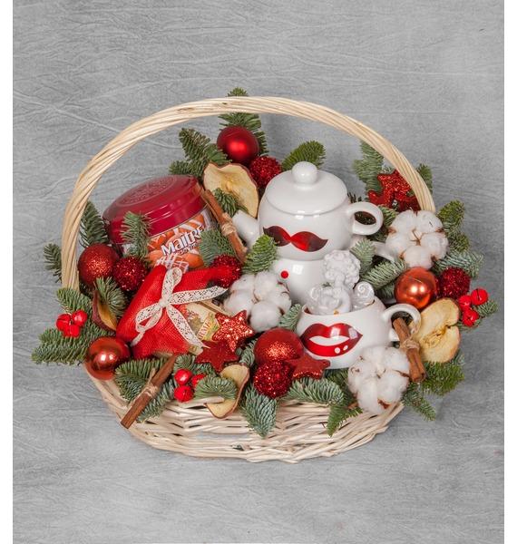 Фото - Подарочная корзина Романтичный год подарочная корзина осеннее танго