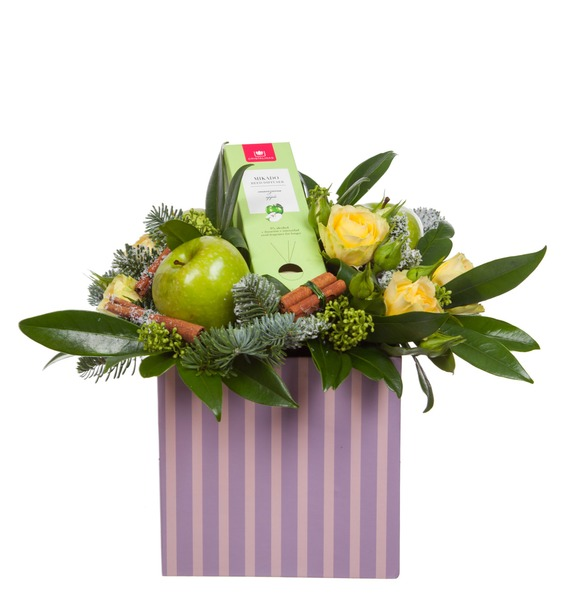 Подарочная коробка Яблочный аромат – фото № 3